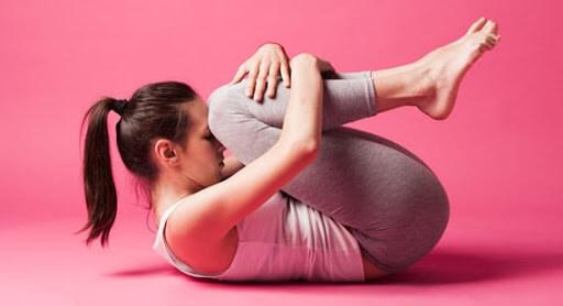 Pawanmuktasana réduit la graisse du ventre
