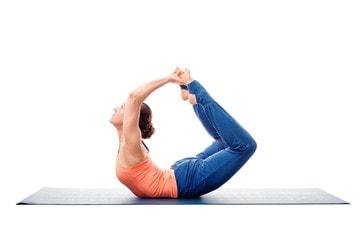 Dhanurasana for lower back pain