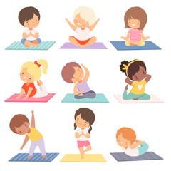 poses de yoga pour les enfants