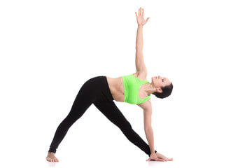 Trikonasana(Triangle pose)