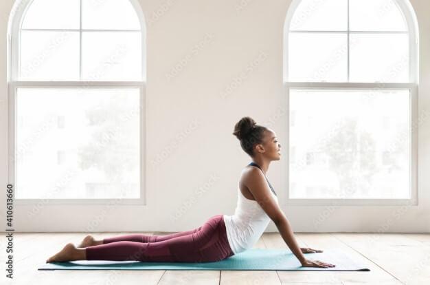 yoga pour une peau éclatante