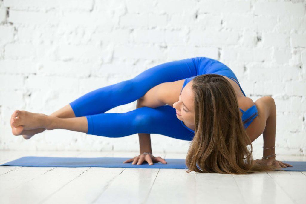 Postures de yoga dures